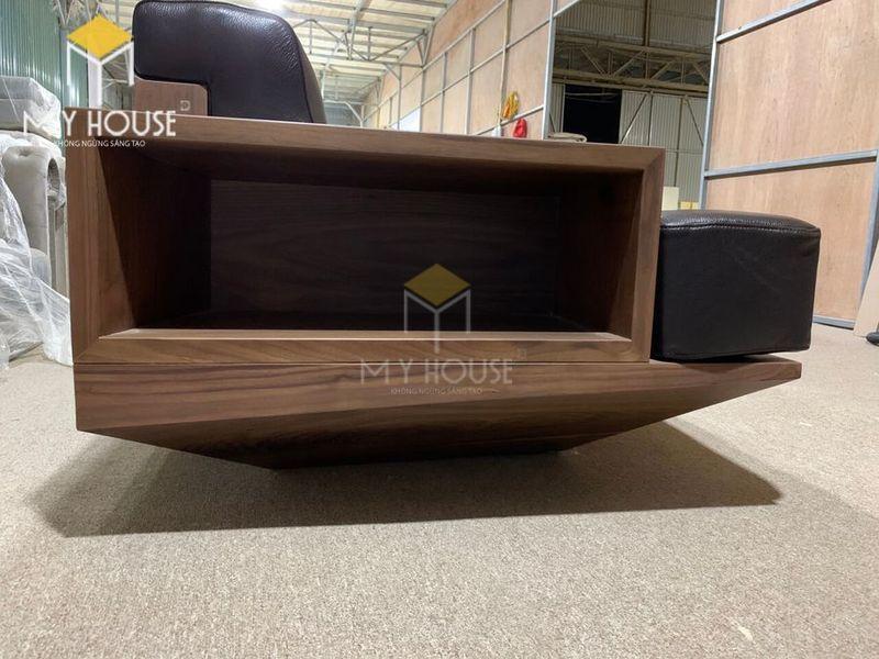 Sofa gỗ óc chó - Hình chụp tại xưởng 6