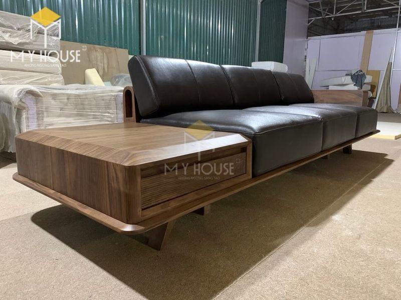 Sofa gỗ óc chó - Hình chụp tại xưởng 7