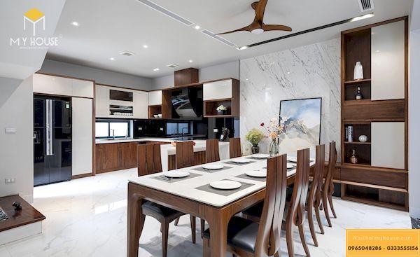 Bàn ghế ăn nội thất gỗ tự nhiên