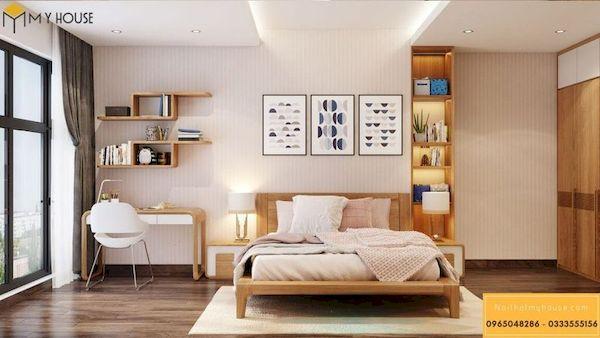 Phòng ngủ gỗ công nghiệp đẹp - Hình ảnh 14