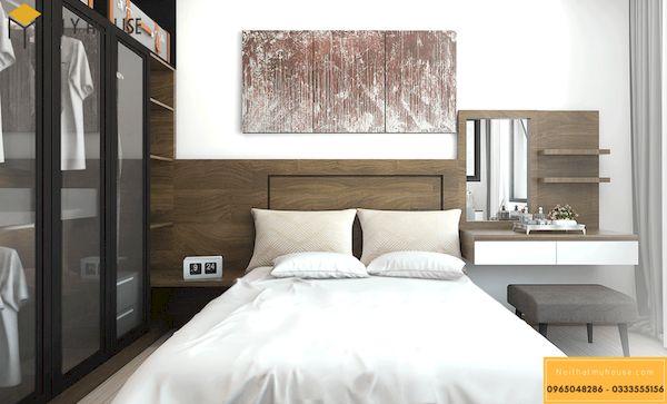 Phòng ngủ gỗ công nghiệp đẹp - Hình ảnh 18