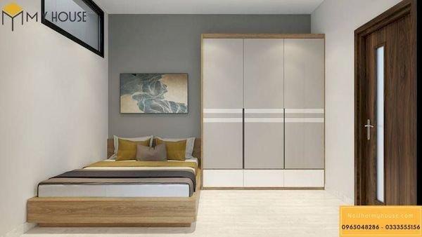 Phòng ngủ gỗ công nghiệp đẹp - Hình ảnh 5