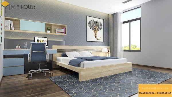 Phòng ngủ gỗ công nghiệp đẹp - Hình ảnh 7