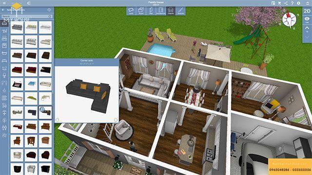 Phần mềm Home Design 3D