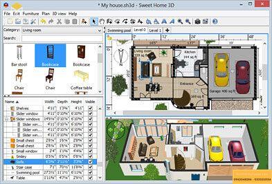 Phần mềm Sweet Home 3D