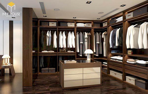 Phòng thay đồ hiện đại - Hình ảnh 1