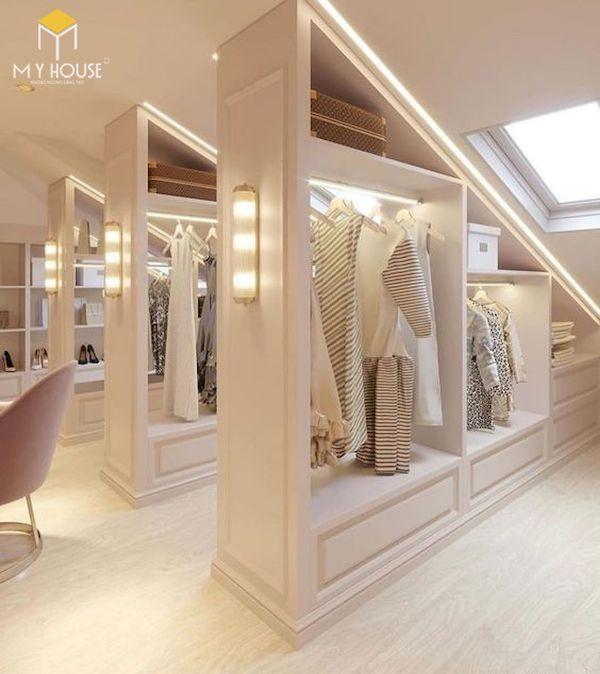 Thiết kế phòng thay đồ tủ quần áo - Hình ảnh 8