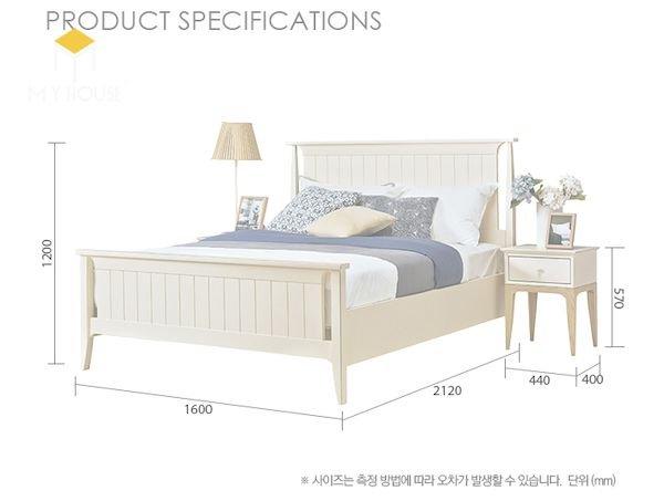 Kích thước giường và tab đầu giường phù hợp - Hình ảnh 3