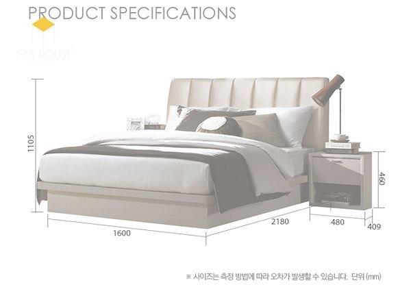 Kích thước giường và tab đầu giường phù hợp - Hình ảnh 2