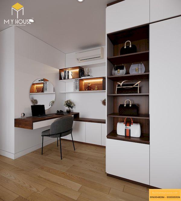 Công trình thi công nội thất chung cư đã hoàn thiện - Mẫu 19