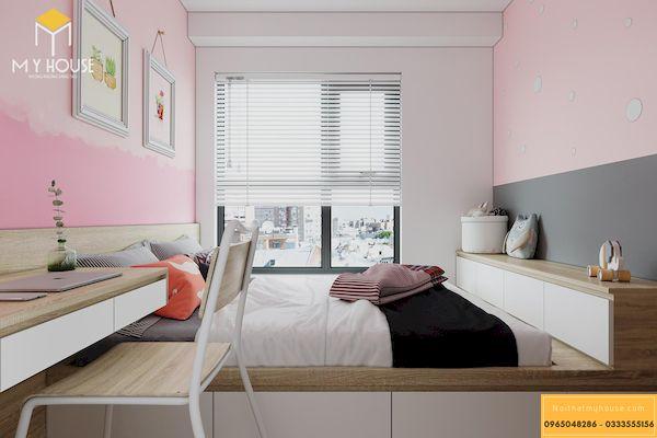 Công trình thi công nội thất chung cư đã hoàn thiện - Mẫu 23