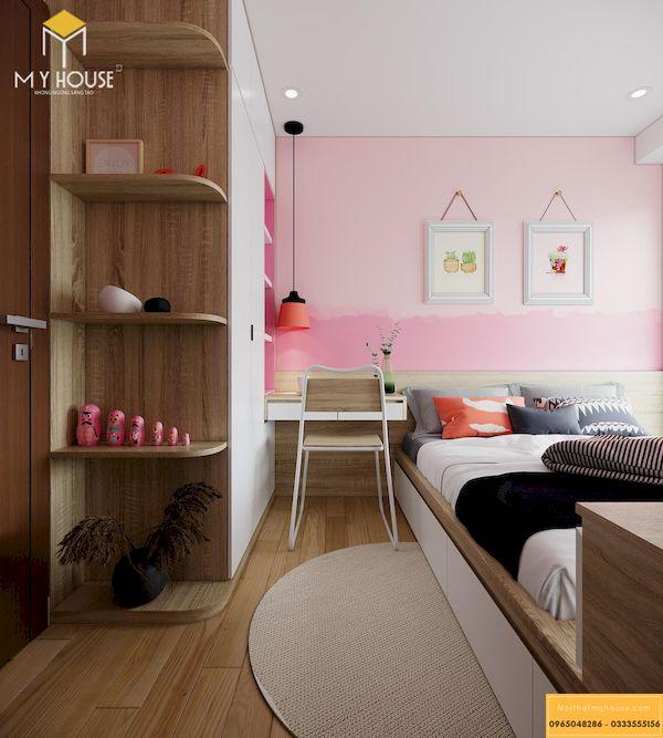 Công trình thi công nội thất chung cư đã hoàn thiện - Mẫu 24