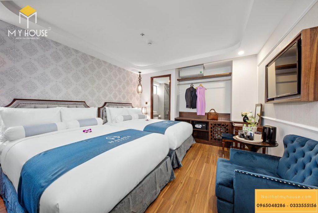 Phòng 2 giường đơn sang trọng - View 2