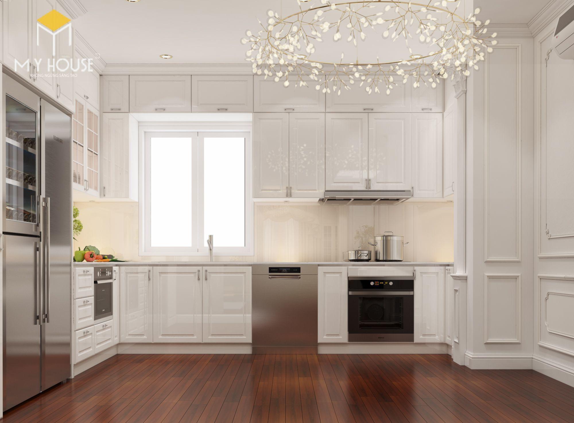 Nội thất phòng bếp +ăn cao cấp phong cách châu Âu-view 2