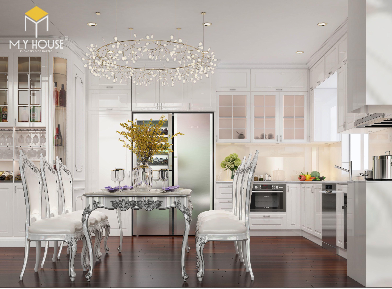 Nội thất phòng bếp +ăn cao cấp phong cách châu Âu-view 1