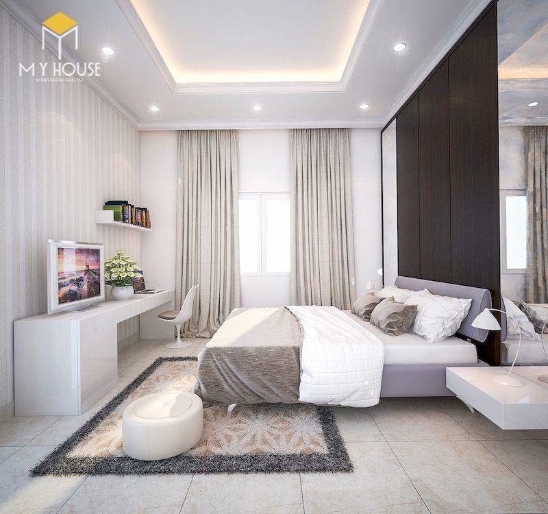 Phòng ngủ bằng gỗ cao cấp hiện đại - View 1