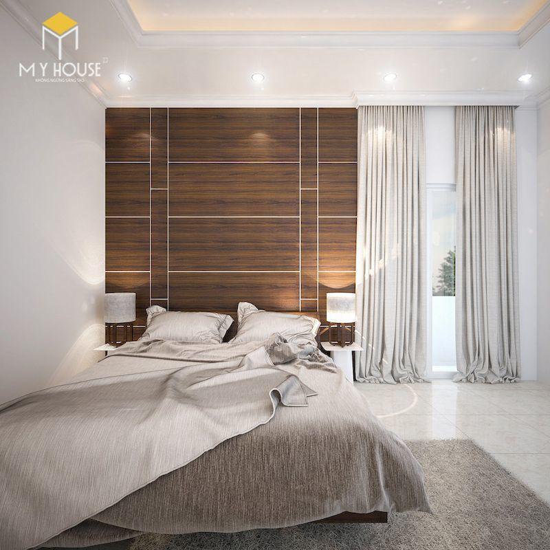Phòng ngủ bằng gỗ cao cấp - View 1