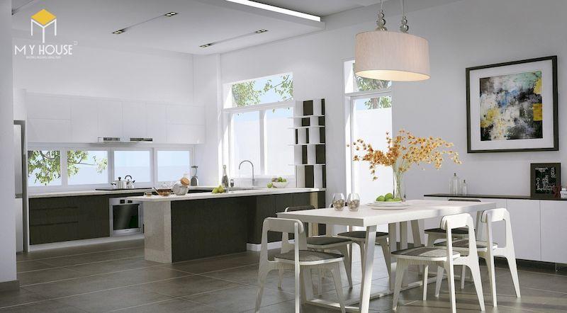 Nội thất phòng bếp đơn giản tinh tế - View 2