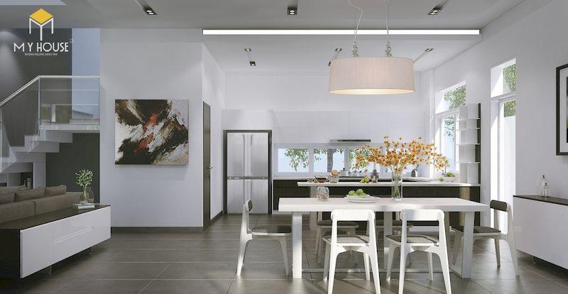 Nội thất phòng bếp đơn giản tinh tế - View 1