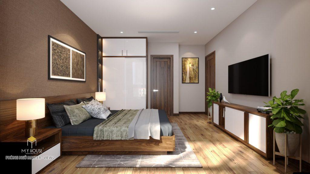 Nội thất phòng ngủ master - View 1