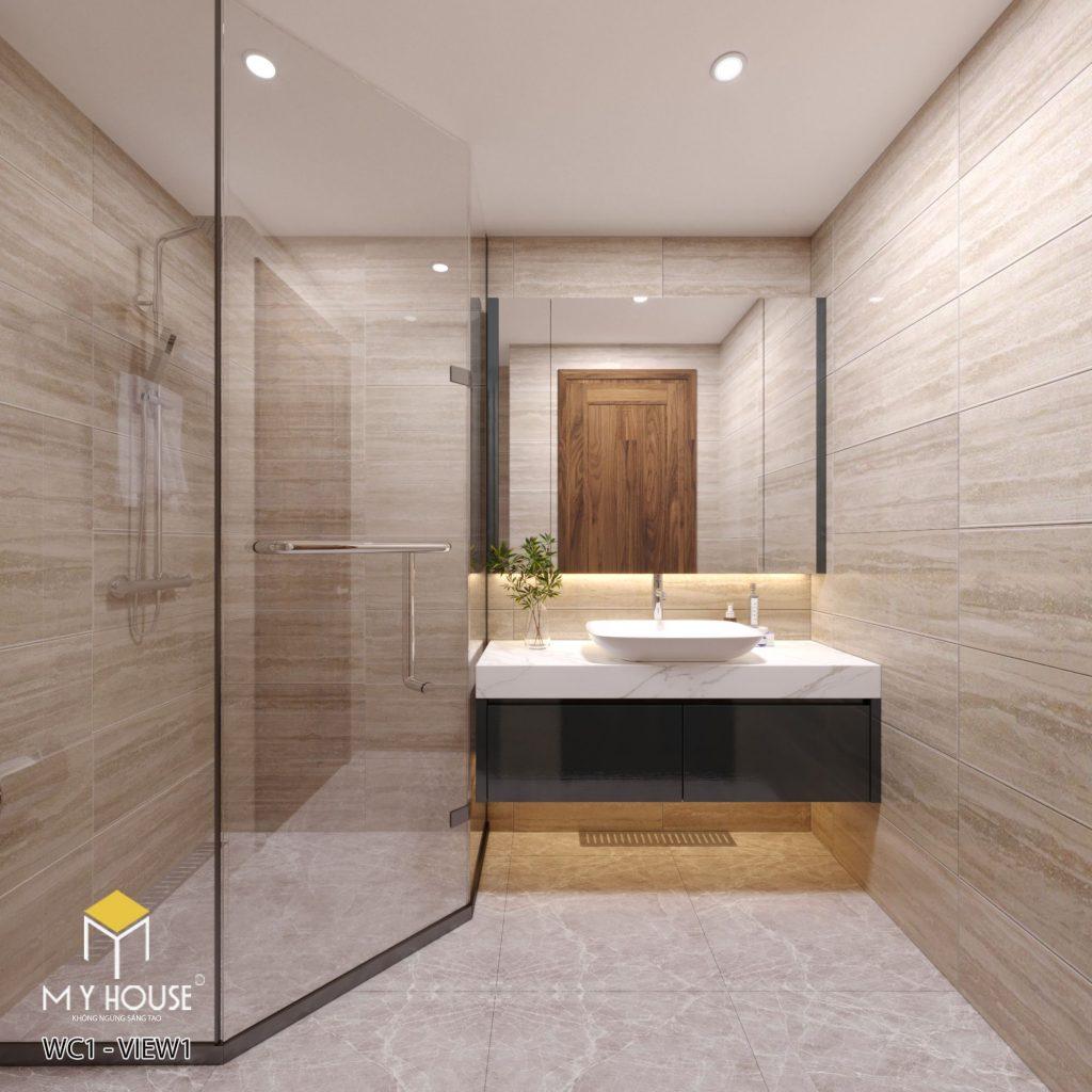 Không gian phòng tắm đơn giản, sang trọng - View 2