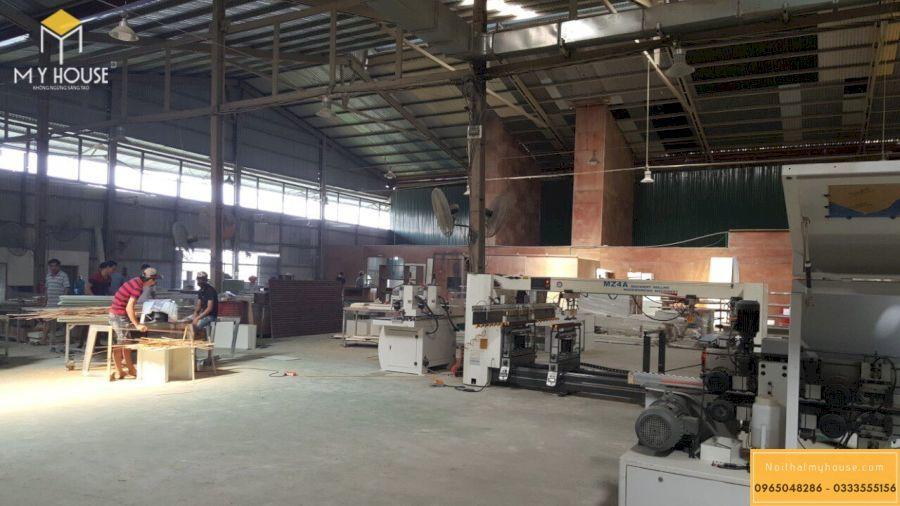 Hình ảnh nhà máy sản xuất nội thất đồ gỗ chuyên nghiệp tại Hà Nội _ View 5