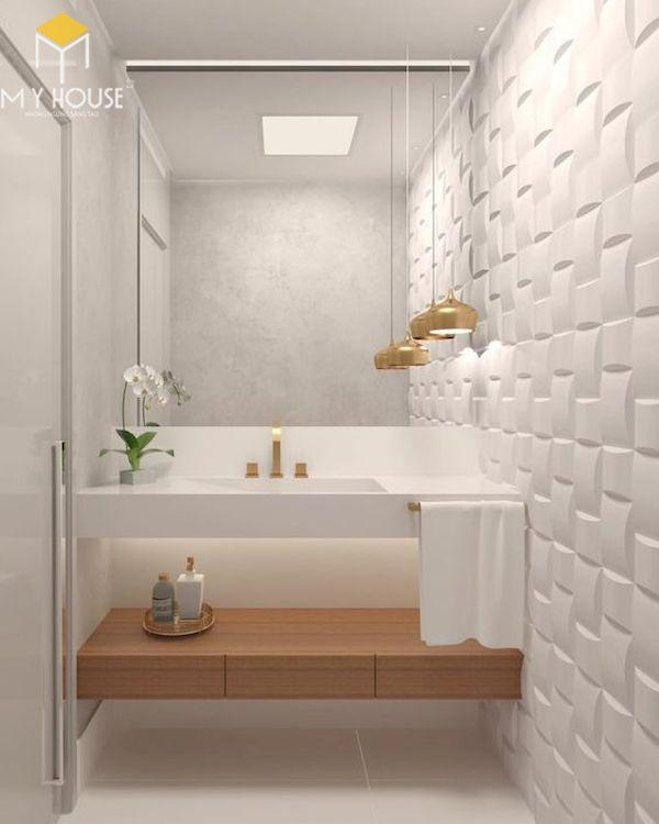 Mẫu lavabo cho phòng vệ sinh đẹp _ Mẫu 14
