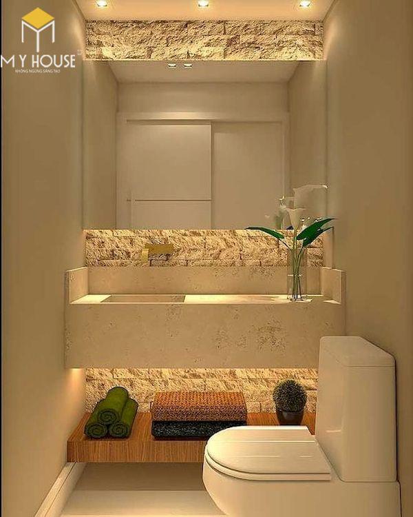 Mẫu lavabo cho phòng vệ sinh đẹp _ Mẫu 15