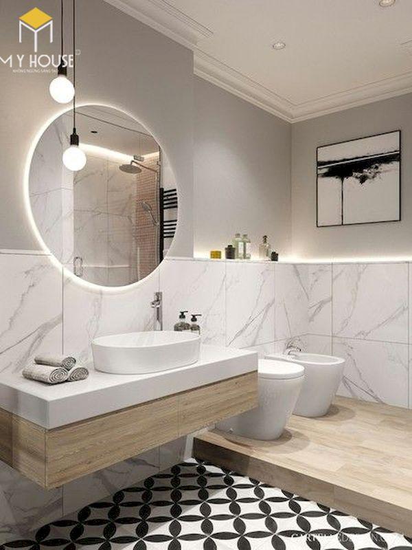 Mẫu lavabo cho phòng vệ sinh đẹp _ Mẫu 16