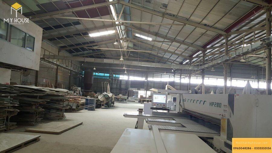 Hình ảnh xưởng sản xuất nội thất gỗ veneer óc chó - Mẫu 6