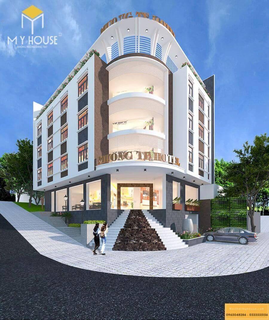 Xây dựng khách sạn 3 sao đep 2021