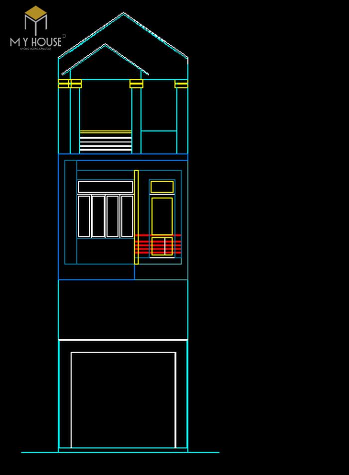 Nhà phố 4x15m-4 tầng-full