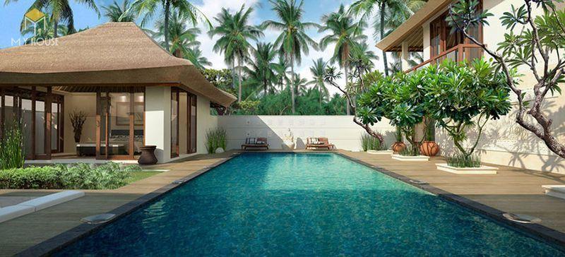 Thiết kế resort hiện đại không gian xanh ấn tượng - View 3