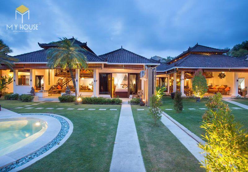 Thiết kế resort hiện đại không gian xanh ấn tượng - View 5