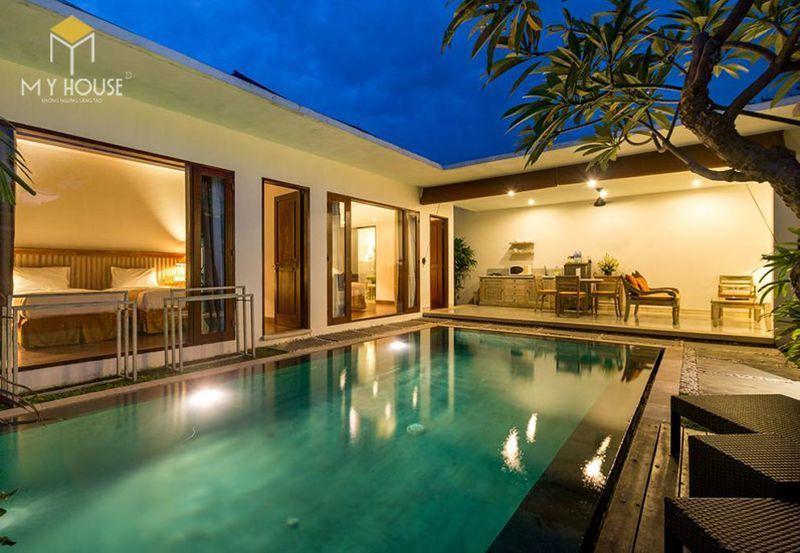 Thiết kế resort hiện đại không gian xanh ấn tượng - View 6