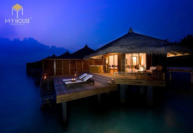 Thiết kế resort hiện đại không gian xanh ấn tượng - View 1