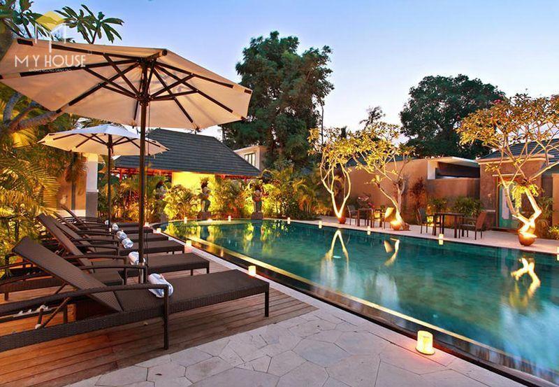 Thiết kế resort hiện đại không gian xanh ấn tượng - View 2