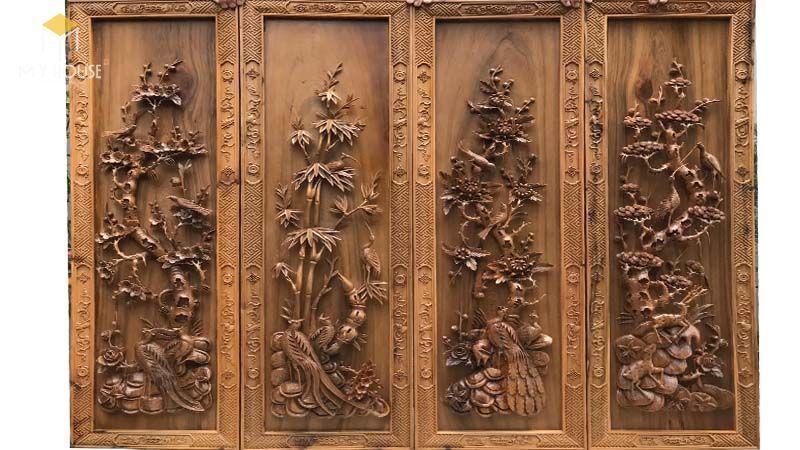 Bách xanh là loại gỗ có giá trị không chỉ bởi độ quý hiếm của nó mà còn có ý nghĩa về mặt phong thủy đem lại tài lộc may mắn