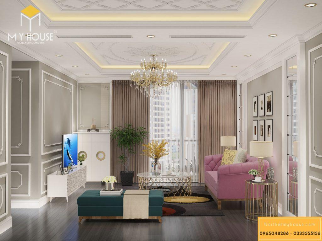 Thiết kế nội thất phòng khác tân cổ điển - View 1