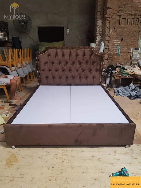 Mẫu giường sản xuất tại xưởng My House - M1