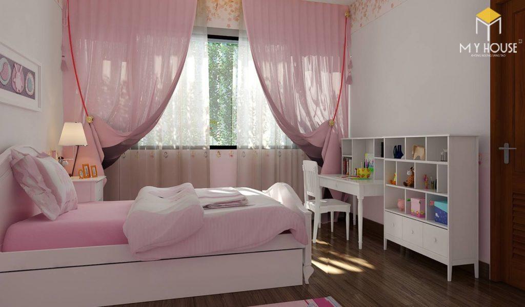 Nội thất phòng ngủ bé gái - View 1