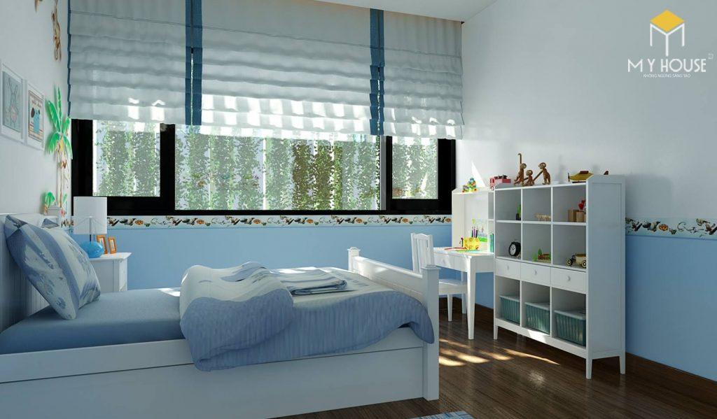 Phòng ngủ bé trai - View 2
