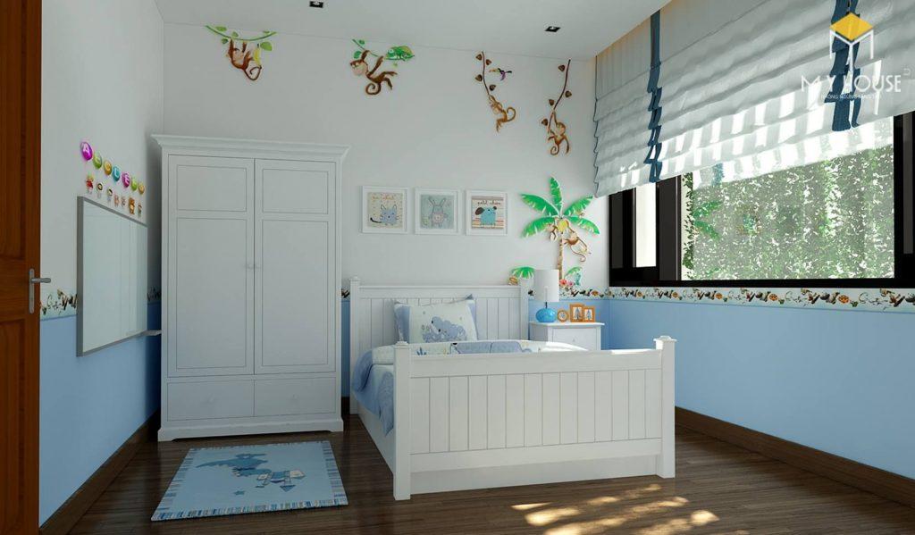 Phòng ngủ bé trai - View 1
