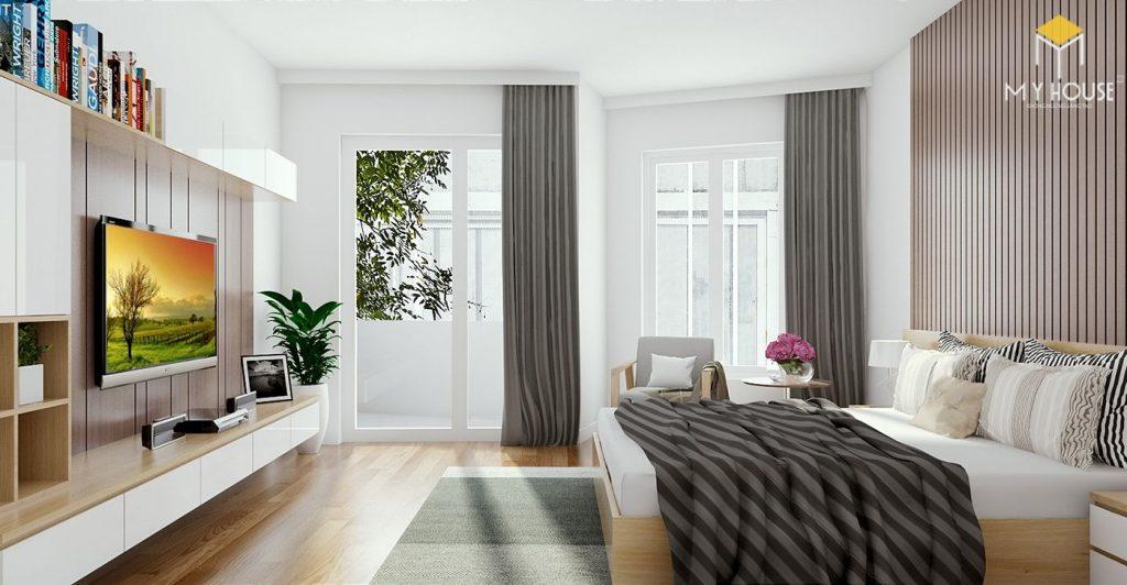Phòng ngủ ấm áp đa dạng về sắc màu