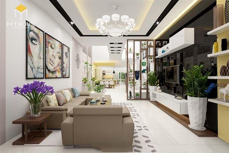 Không gian phòng khách - View 1