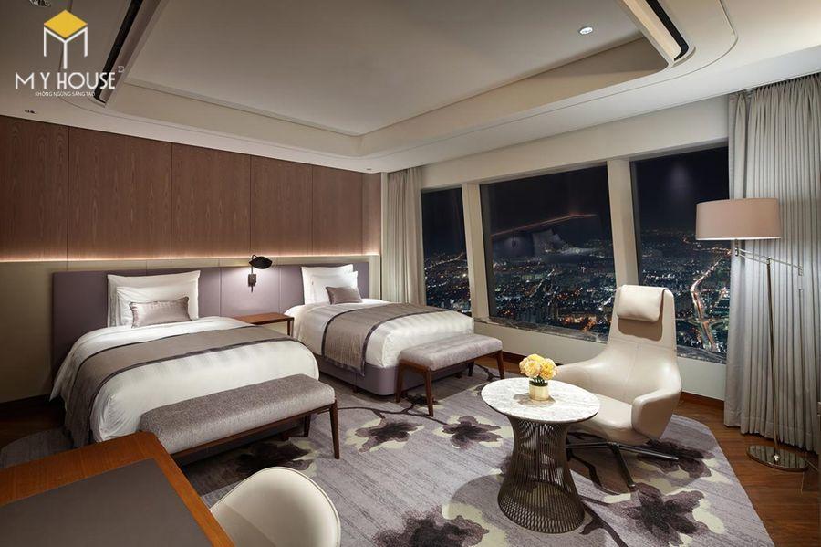 Nội thất phòng ngủ khách sạn 7 sao