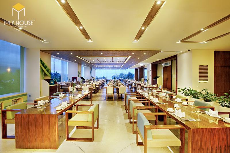 Nội thất nhà hàng hiện đại tinh tế