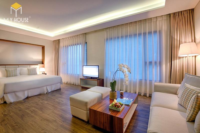 Nội thất khách sạn nghỉ dưỡng hiện đại - View 5