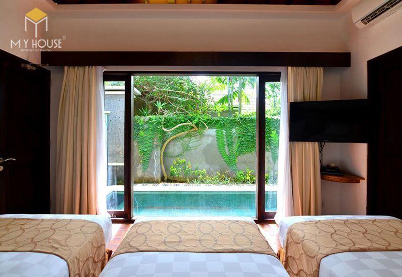 Tiêu chuẩn thiết kế Resort thứ hai mà khu nghỉ dưỡng cần đạt được đó là chất lượng tiện nghi - View 7