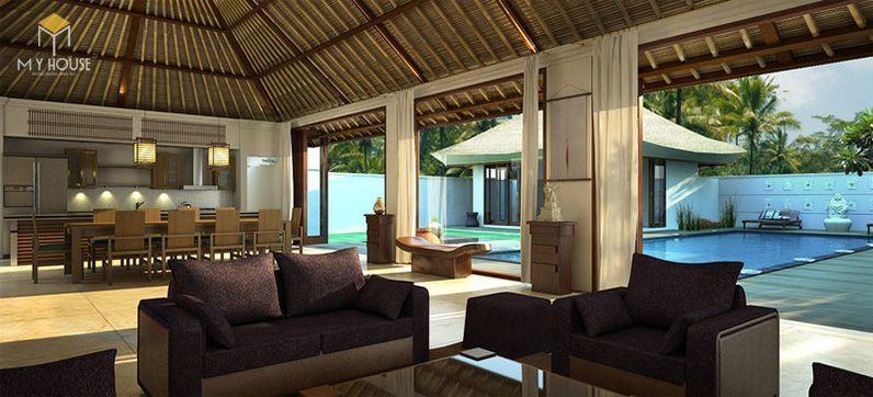 Tiêu chuẩn thiết kế Resort thứ hai mà khu nghỉ dưỡng cần đạt được đó là chất lượng tiện nghi - View 9
